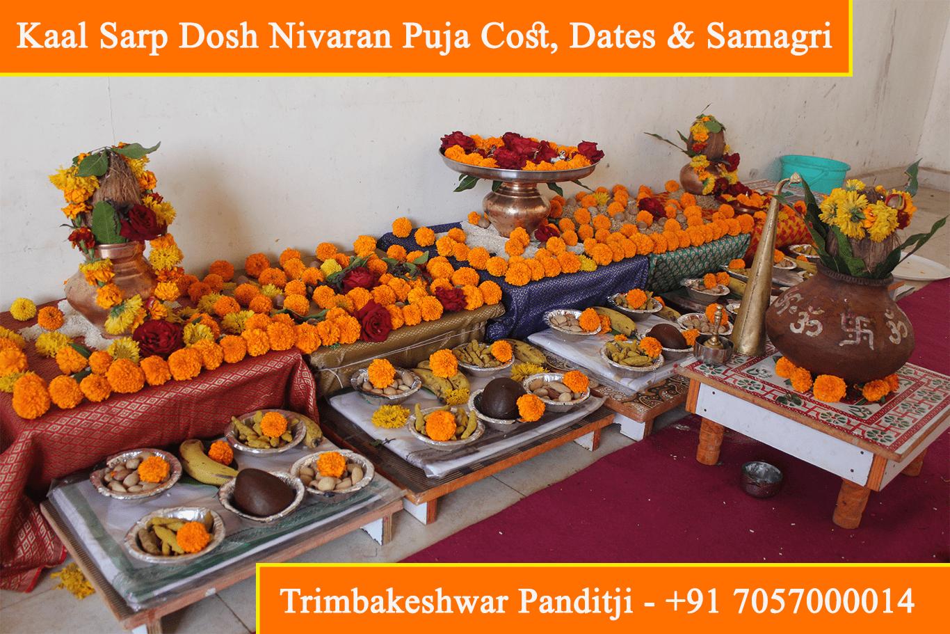 Kaal Sarp Dosh Nivaran Puja Cost, Dates, Muhurat, Remedies, Samagri