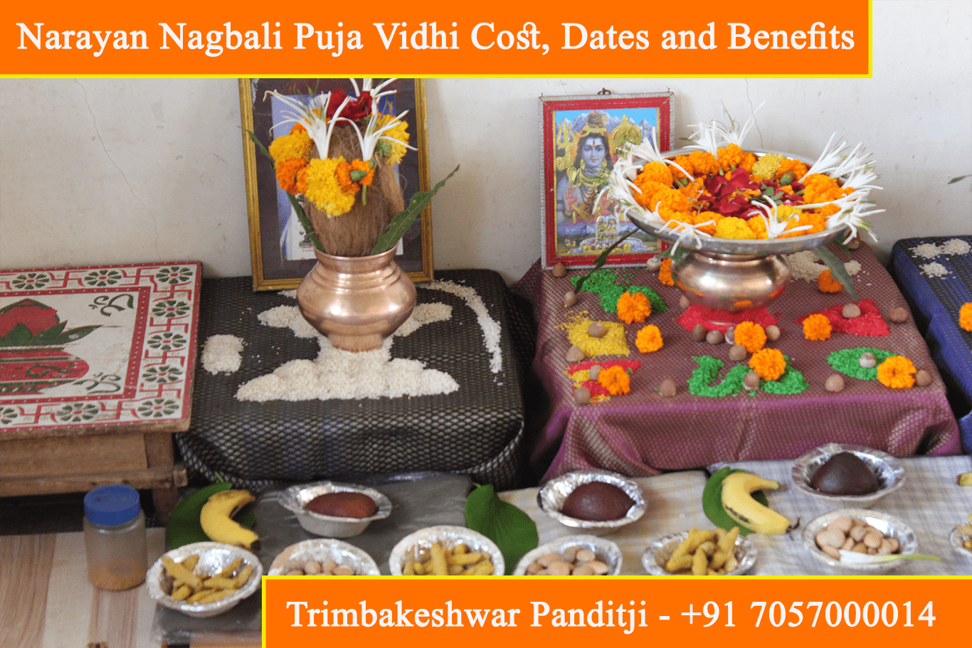 Narayan Nagbali Puja Vidhi, Cost, Dates, Benefits, Effects and Procedure