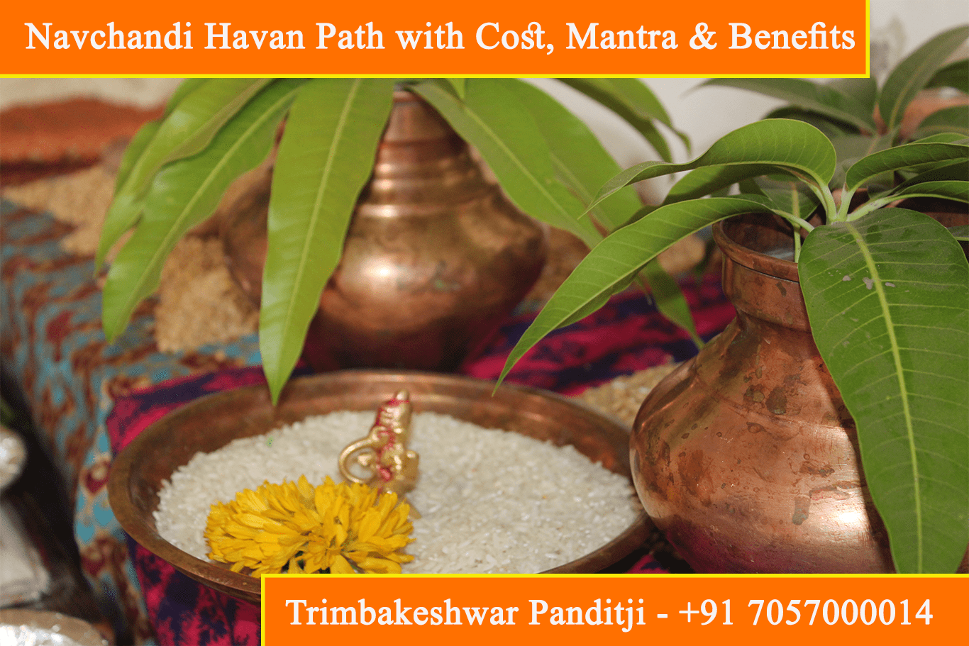 Navchandi Havan, Yagna, Puja, Path with Cost, Mantra & Benefits