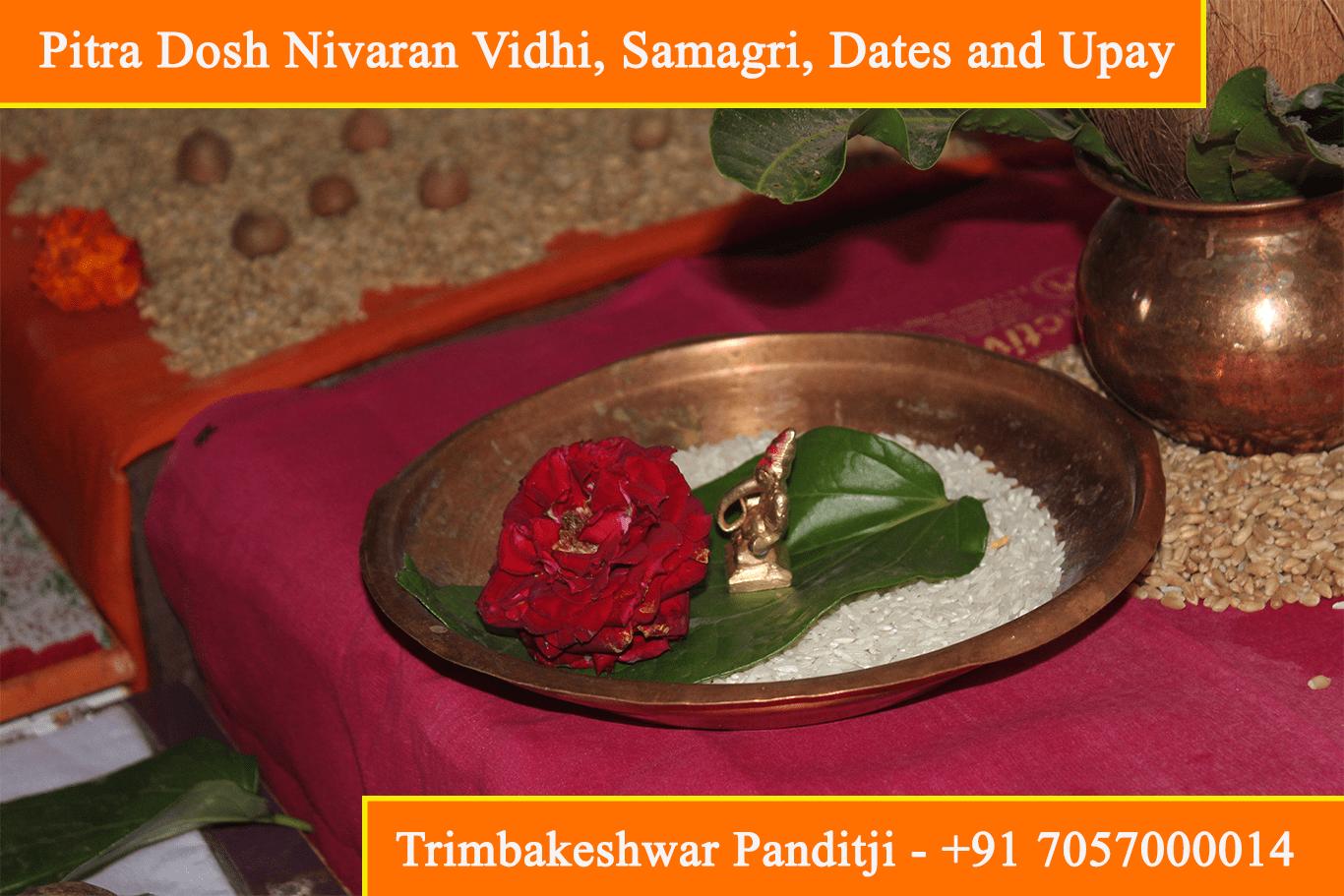 Pitra Dosh Nivaran Vidhi, Samagri, Dates, Upay, Remedies