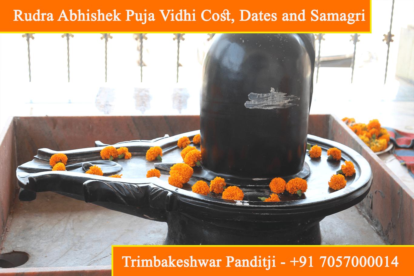 Rudra Abhishek Puja Vidhi, Cost, Dates, Samagri, Benefits And Mantra