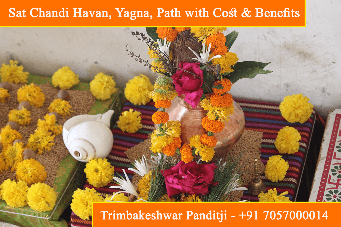 Sat Chandi Havan Yagna Puja Path With Cost Mantra Benefits